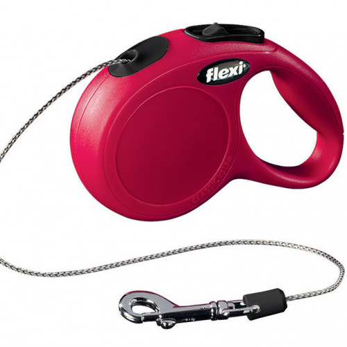 FLEXI Flexi Classic XS Snöre Röd 1-3 3m/max 8kg