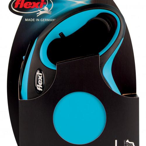 FLEXI Flexi New Comfort L Band Blå 5m/max 60kg