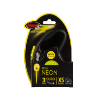 FLEXI Flexi Neon Reflect XS Snöre 3m/max8kg