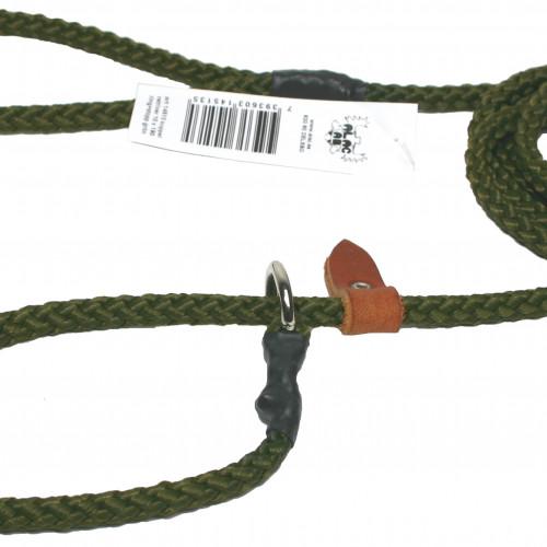 ALAC Retriverkoppel Nylon grön Alac 10mm x180 cm