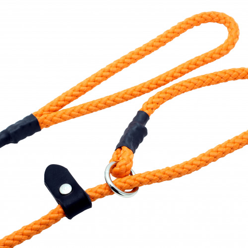 ALAC Retriverkoppel Nylon Orange Alac 10mm x180 cm