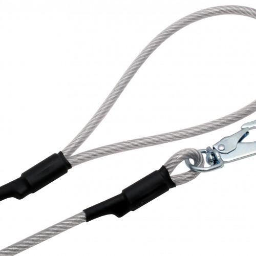 ALAC Wirekoppel XL Alac 6mm/190cm