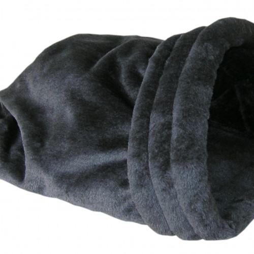 Cat-Gato Krypin bädd Antracitgrå 45x35x17 cm
