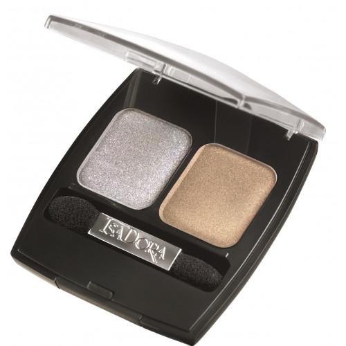 IsaDora Light & Shade Eye Shadow 30 Silver & Gold