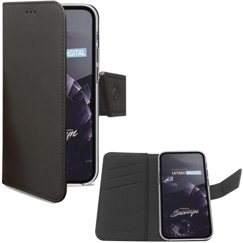 Celly Wallet Case Galaxy S21 Svart