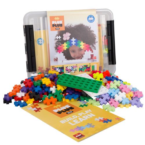 Plus-Plus BIG Storage Box Mix / 200 pcs