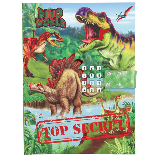 Dino World Dagbok m. kod & ljud