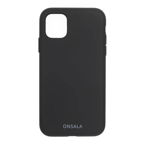ONSALA Mobilskal Silikon Black iPhone 11 / XR