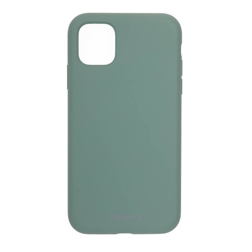 ONSALA Mobilskal Silikon Pine Green iPhone 11 / XR