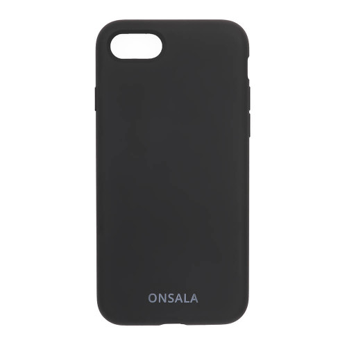 ONSALA Mobilskal Silikon Black iPhone 6/7/8/SE