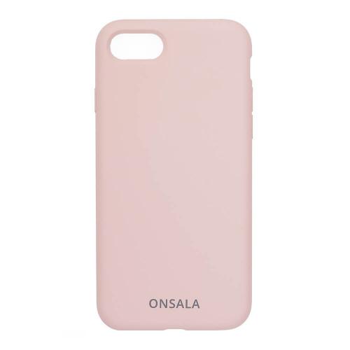 ONSALA Mobilskal Silikon Sand Pink iPhone 6/7/8/SE