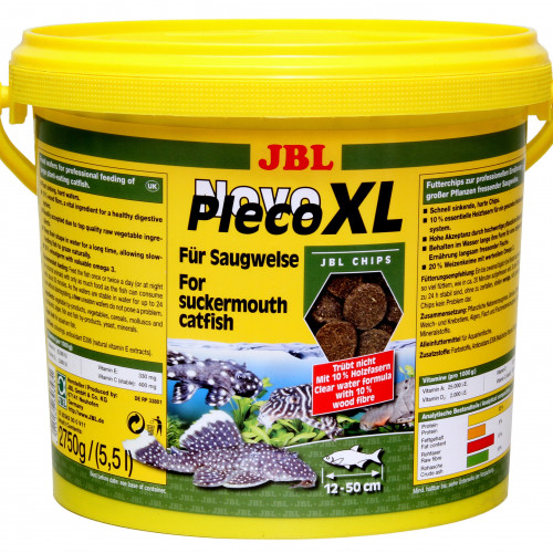 JBL JBL NovoPleco XL 5,5 l