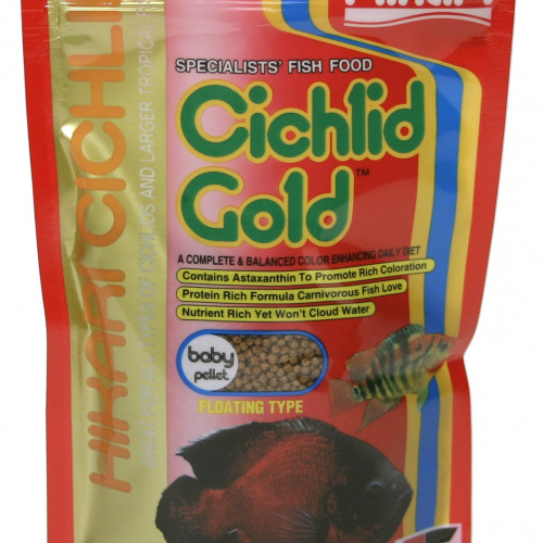 Hikari Hikari Ciklid Gold Färg Baby 57 g
