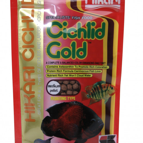 Hikari Hikari Ciklid Gold Färg Medium 57 g