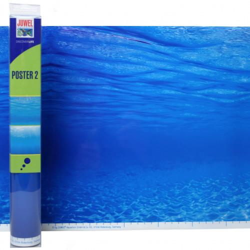 Juwel Bakgrund Poster 2 Juwel 2 sidig Blått hav 150x60cm