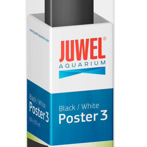 Juwel Bakgrund Poster 3 Juwel 2 sidig Svart/Vit 60x30 cm