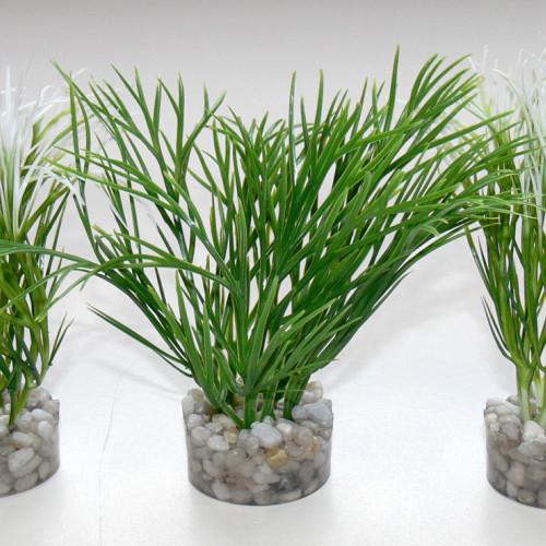 Sydeco Plastväxt Nano Green Plant Sydeco 11 cm