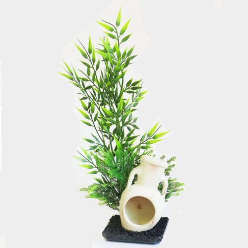 Sydeco Plastväxt Zen Aqua Ornament Sydeco 40 cm