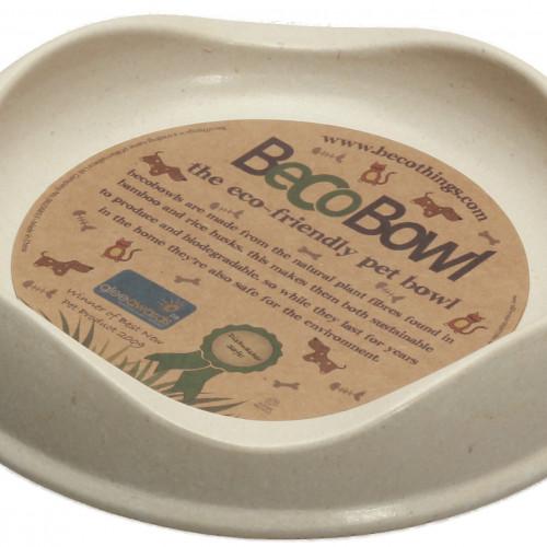 Beco Beco matskål Beige från växtfibrer 13,6x3cm