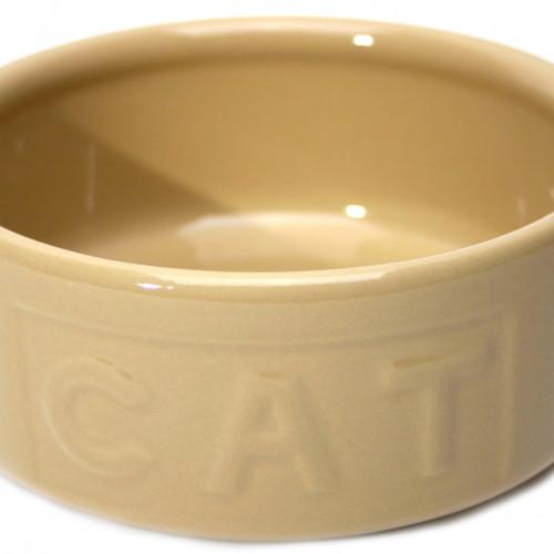MASON CASH Keramikskål Cat Beige MC 130 mm