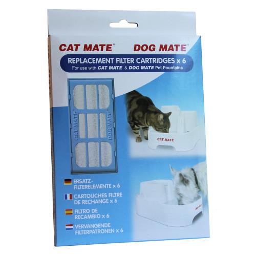Pet Mate Filter Vattenautomat CatMate 6p
