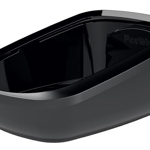PeeWee Toalåda PeeWee EcoGranda svart/svart 66,5x48,5x28 cm
