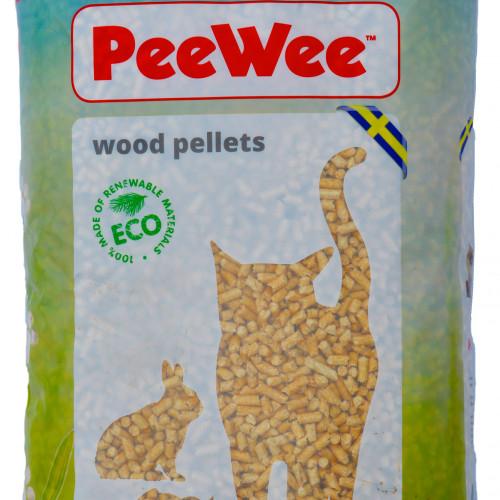 PeeWee Peewee 14 liter kattströ trä 9 kg
