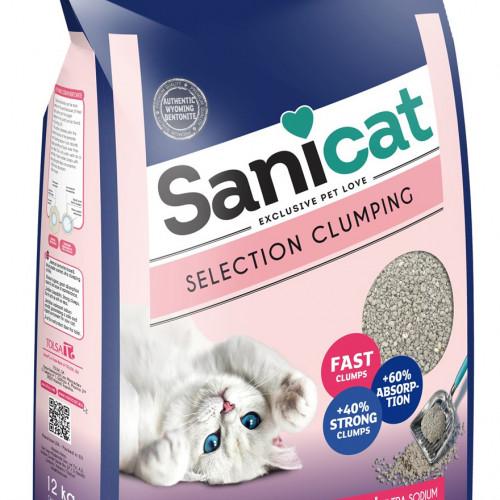 Sanicat Sanicat Selection American kattsand 12 kg
