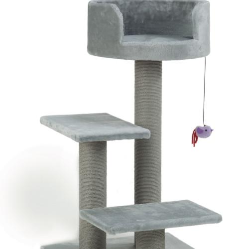 Beeztees Klösmöbel Figo Grå Beeztees 50x50x92 cm