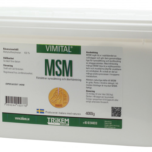 Trikem Vimital MSM 4000 g