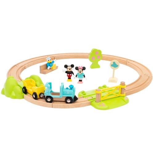 Brio 32277 Mickey Mouse Train Set