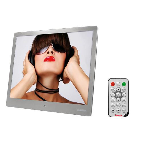 "HAMA Digitalram Steel 9.7"" Slim 1024x768 Musik & Video Silver"