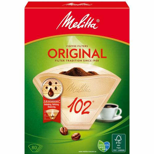 Melitta Kaffefilter 102 80pack (Obs 9s