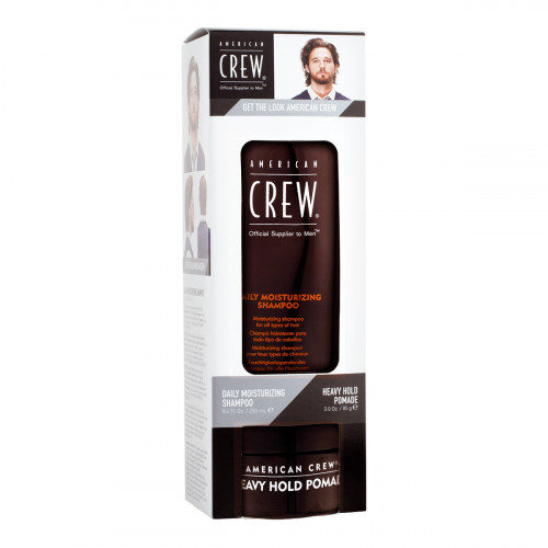 American Crew Shampoo 250 ml + Pomade 85 g