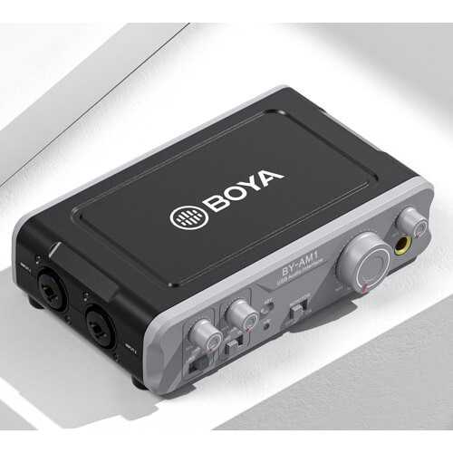 BOYA Mixer Audio BY-AM1 XLR 2-Kanals
