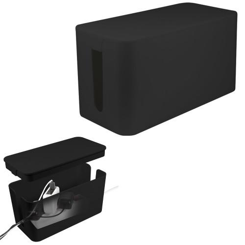 LogiLink Cable box - Kabelgömma S Svart