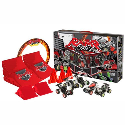 Ramp Rage Ramp Rage 5 Cars, 6 Ramps