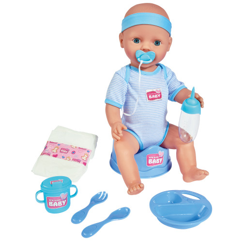 New Born Baby Baby Blue Accessories