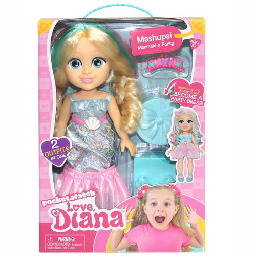 Love Diana Doll Mashup Party/Mermaid 33cm