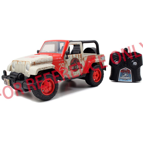 Jada Toys Jurassic Park  RC Jeep Wrangle