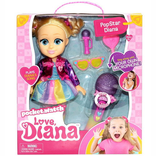 Love Diana Popstar Sing Along
