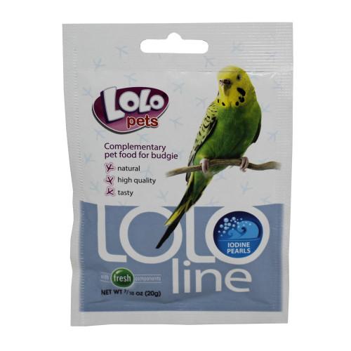LoLo Pets Jodpärlor, fågel  Lolopets 20 g