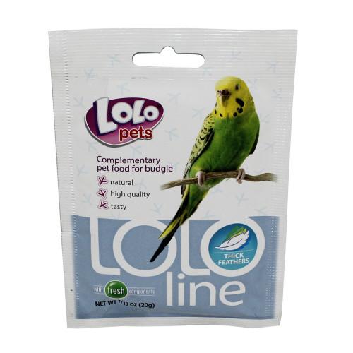 LoLo Pets Fjäderprakt, fågel  Lolopets 20 g
