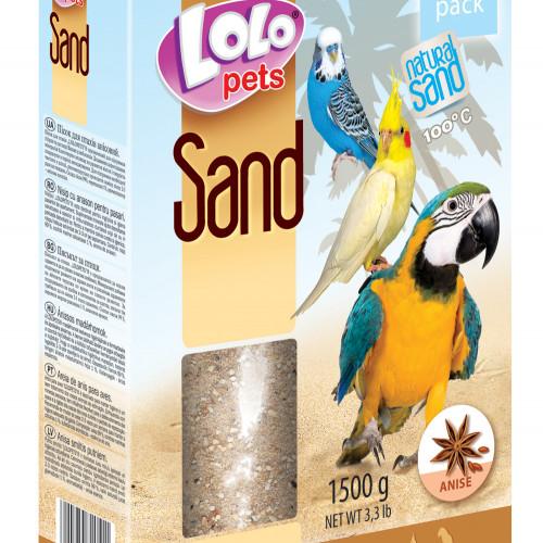 LoLo Pets Fågelsand Lolopets Anis 1,5 kg