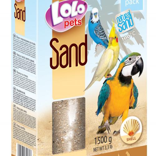 LoLo Pets Fågelsand Snäckskal Lolopets 1,5 kg