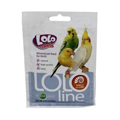 LoLo Pets Snäckskal Fågel Lolopets 50 g