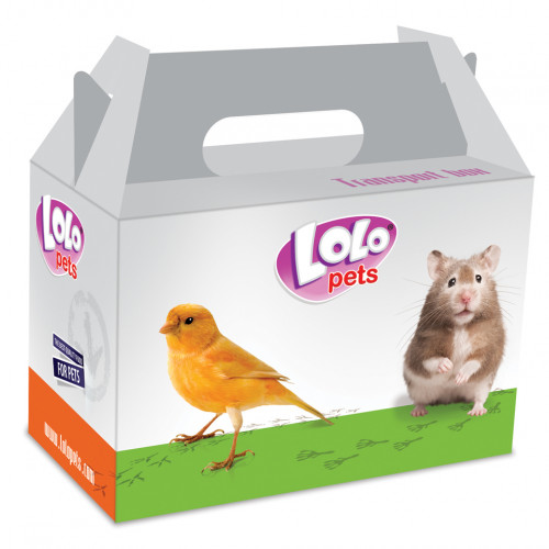 LoLo Pets Transportkartong Liten Lolopets 14x9x8cm