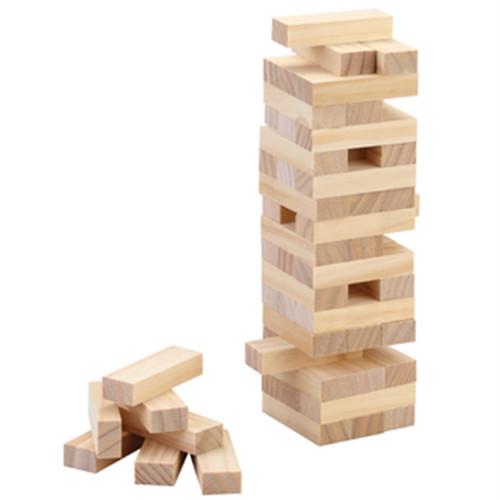 Spring Summer XL Wooden Building Blocks 54 p