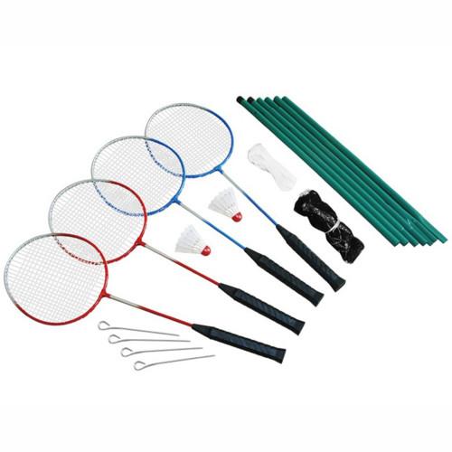 Spring Summer Badminton set 4 players incl.