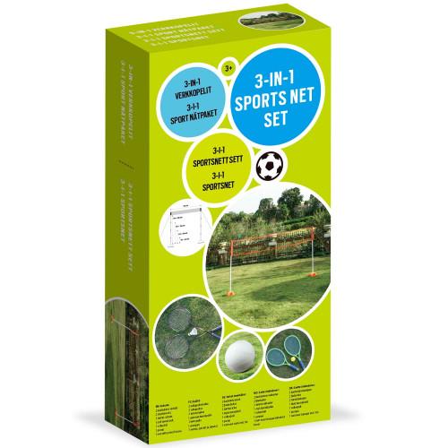Spring Summer 3-in-1 Sports net set